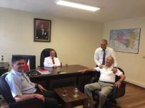 KARAYOLLARI - Başkan Yalçın, Karayolları Bölge Müdür Yardımcıları İle Bir Araya Geldi