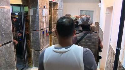 Başkent'te uyuşturucu satıcılarına 'Kalkan' operasyonu