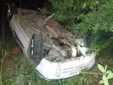Bingöl'de Otomobil Şarampole Yuvarlandı Açıklaması 4 Yaralı