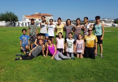 Burhaniye'de Ücretsiz Atletizm Kursu Açıldı