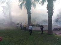 HALITPAŞA - Çıkan Yangında Bir Ev Kullanılamaz Hale Geldi
