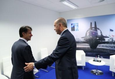 Cumhurbaşkanı Erdoğan, İtalya Başbakanı Conte İle Görüştü
