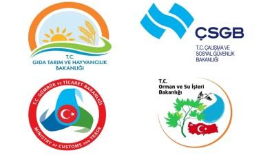Değişen Bakanlıklara Yeni Logolar