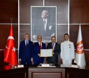 DENİZ KUVVETLERİ - Denizde İkmal Muharebe Destek Gemisi Tedarik Projesi Sözleşmesi İmzalandı