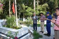 Dursunbey'de Şehit Kabirleri Ziyaret Edildi
