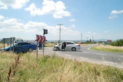 Edirne'de Trafik Kazası Açıklaması 6 Yaralı