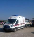 DÖĞER - Frig Vadisi'nde ATV İle Gezinti Yapan Anne İle Kızı Kaza Yaptı