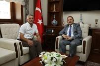HAREKAT POLİSİ - Göksunlu Şehit Babası Mehmet Arslan, Vali Ali Hamza Pehlivan'ı Ziyaret Etti