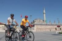 ARNAVUTLUK - Kutsal Topraklara Bisikletli Yolculukta Mevlana Ziyareti
