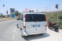 KıZıLAĞAÇ - Manavgat'ta Meydana Gelen 2 Ayrı Motosiklet Kazasında 3 Kişi Yaralandı.