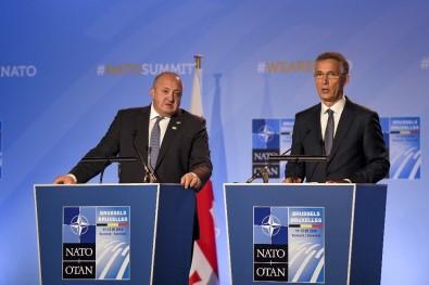 NATO Genel Sekreteri Stoltenberg Açıklaması 'Gürcistan NATO Üyesi Olacak'