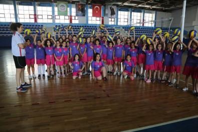 Odunpazarı Belediyesi Voleybol Yaz Okuluna Büyük İlgi