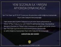 19 MAYıS - MKE Ankaragücü Taraftarından Stat Tepkisi