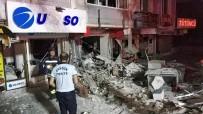 OTOBÜS FİRMASI - Samsun'da Şiddetli Patlama Kamerada