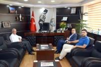 Sandıklı Belediye Başkanı Mustafa Çöl, Dinar Belediye Başkanı Saffet Acar'ı Zyaret Etti