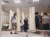 ALAADDIN KEYKUBAT - Tam 72 Turist Zehirlenme Şikayetiyle Hastanede