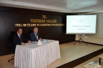 MEHMET CEYLAN - Tekirdağ İl Koordinasyon Kurulu Toplantısı Yapıldı