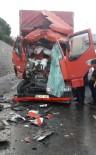 HEREKE - TEM'de Korkutan Kaza Açıklaması 1 Yaralı
