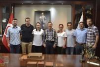 Tenis Kulübü Yöneticileri Başkan Ataç'ı Ziyaret Etti