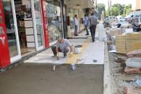 BEBEK ARABASI - Turgutlu'da Kaldırımlara Estetik Dokunuş