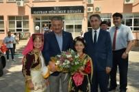 ŞEREF AYDıN - Vali Yazıcı Havran'ı Ziyaret Etti