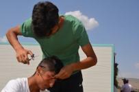 ŞENYAYLA - Yaylada Güneş Enerjisiyle Tıraş