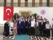 CUMHUR ÜNAL - Yortan Teşkilatından Milletvekillerine Hayırlı Olsun Ziyareti