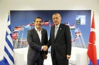 LİDERLER ZİRVESİ - Yunanistan Başbakanı Çipras Açıklaması 'Erdoğan İle Kolay Bir Görüşme Değildi''
