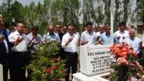 HAREKAT POLİSİ - 15 Temmuz Şehidi Mezarı Başında Anıldı