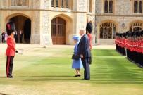 KRALIÇE ELIZABETH - ABD Başkanı Trump, Kraliçe Elizabeth İle Bir Araya Geldi