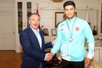 BEDEN EĞİTİMİ - Ağrılı Sporcu Malkan 18. Akdeniz Oyunları'nda Gümüş Madalya Kazandı