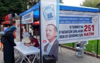 AK Parti Kütahya İl Gençlik Kolları Başkanlığı'ndan 15 Temmuz Şehitleri İçin Hatim Kampanyası
