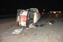 ALKOLLÜ SÜRÜCÜ - Alkollü Sürücü Kaza Yaptı