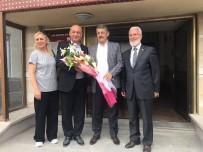 MAHALLİ İDARELER - Bartın Belediye Başkanı Akın, Ilgaz Belediyesi'ni Ziyaret Etti