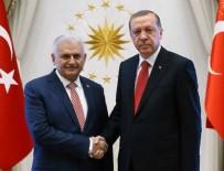 AÇILIŞ TÖRENİ - Başkan Erdoğan'dan, Yıldırım'a şeref madalyası