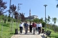 DOĞANTEPE - Başkan Tiryaki'den Açılışlar Öncesi Denetim