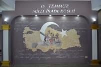 MEHMET AKİF ERSOY - Biga'da 15 Temmuz Milli İrade Köşesi Açıldı