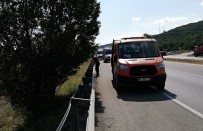 Çorum'da Otomobil Şarampole Uçtu Açıklaması 1 Ölü, 2 Yaralı