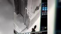 Denizli'de Puset Hırsızlığı Güvenlik Kamerasında