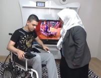 TEKERLEKLİ SANDALYE - Engelli Vatandaşların Hayatları Yunusemre'yle Kolaylaşıyor