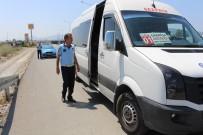 TOPLU TAŞIMA - Gazipaşa'da Klimasına Açmayan Otobüs Şoförlerine Ceza