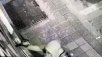 Hırsızlık Anı Güvenlik Kameralarınca Kaydedildi