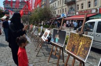 NUMAN HATIPOĞLU - İHA'nın 15 Temmuz'u Anlatan Fotoğrafları Trabzon'da İlgiyle İzlendi