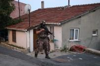 POLİS HELİKOPTERİ - İstanbul'da Şafak Vakti Hava Destekli Operasyon