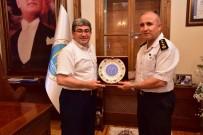 ÖĞRETIM GÖREVLISI - Jandarma Albay Muammer Ergaş'tan Başkan Can'a Veda Ziyareti