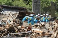 JAPONYA - Japonya'da Sel Felaketinin Ardından Yıkım Böyle Görüntülendi
