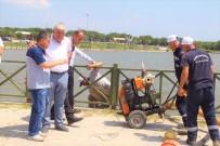 Kaybolan Şahıs İçin Göl Boşaltılıyor