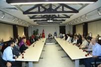 KAYMEK Öğretmenleri İle Başkan Çelik'i Ziyaret Etti