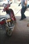 Motosiklete Giren Yılan İtfaiye Ekiplerini Uğraştırdı