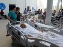 HASTANE - MSÜ Eğitim Araştırma Hastanesinde Yangın Paniği